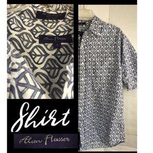 Alan Flusser cotton, linen Shirt